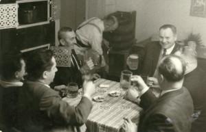 1966 beim schoilmichl - reine Maennerdomaene