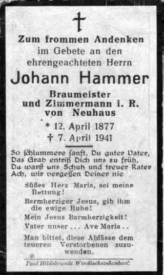 Johann Hammer